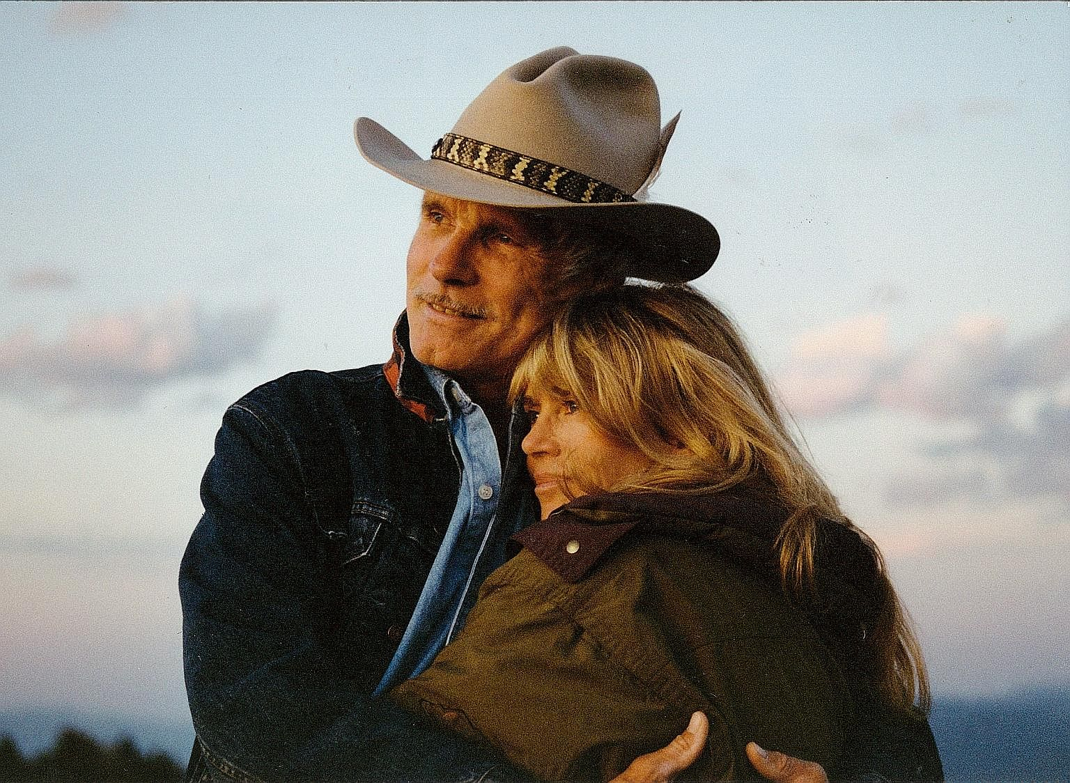 Jane Fonda and ex-husband Ted Turner in Jane Fonda In Five Acts (above) and J.D. Pardo in Mayans M.C.