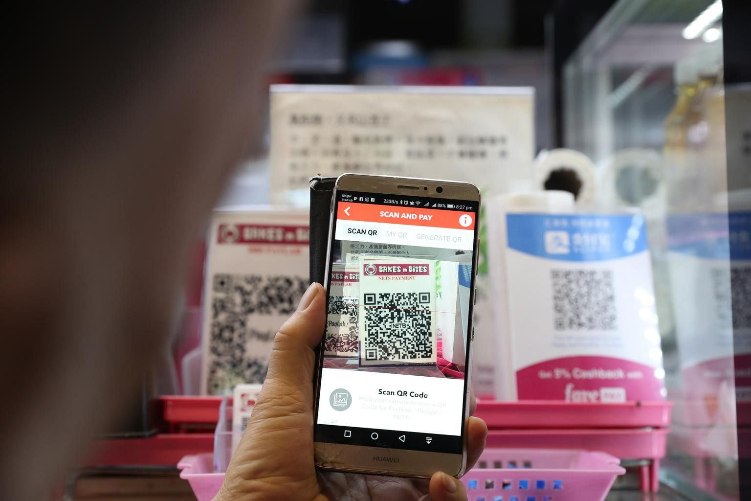 Connectivity issues with Nets QR code affect some e-payment