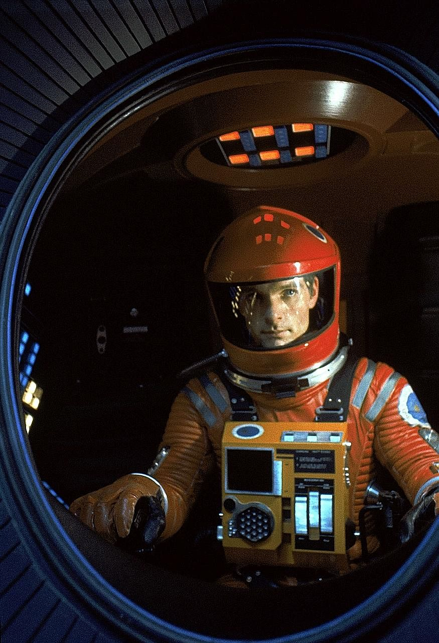 A Space Odyssey stars Keir Dullea as an astronaut placed under the care of ship computer HAL 9000.