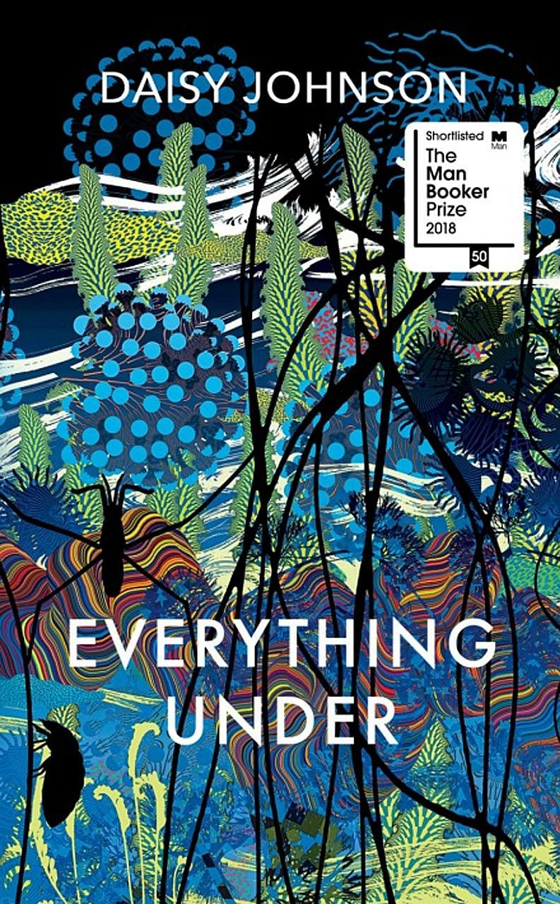 With her debut novel Everything Under (above), Daisy Johnson (right), 27, is the youngest writer to be shortlisted for the Man Booker Prize.