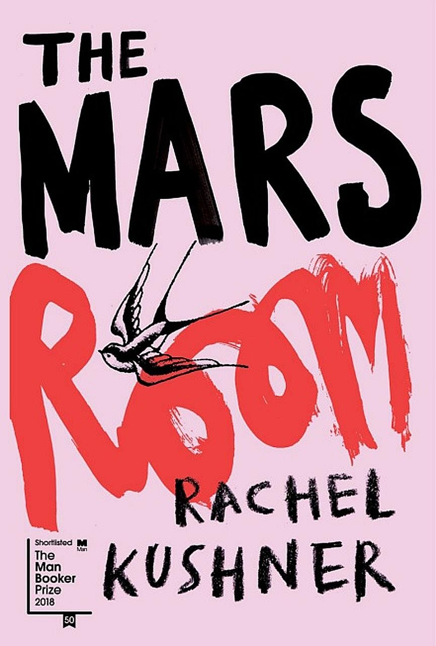 Rachel Kushner (left) gives a human face to convicted felons in a women's jail in her novel, The Mars Room (above).