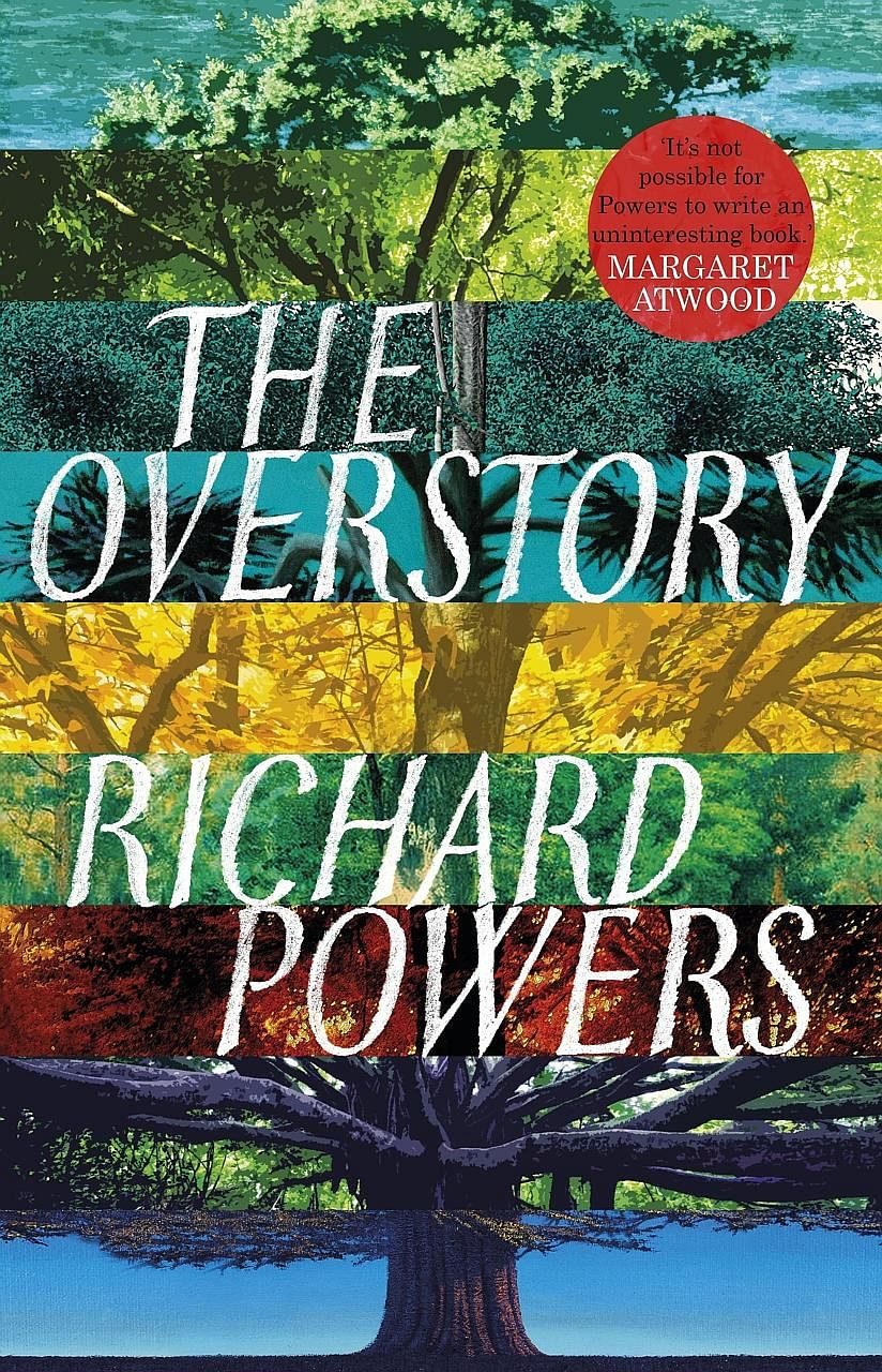 The Overstory (above) by Richard Powers (left) drives home the point that trees are not objects to be mindlessly used and abused.