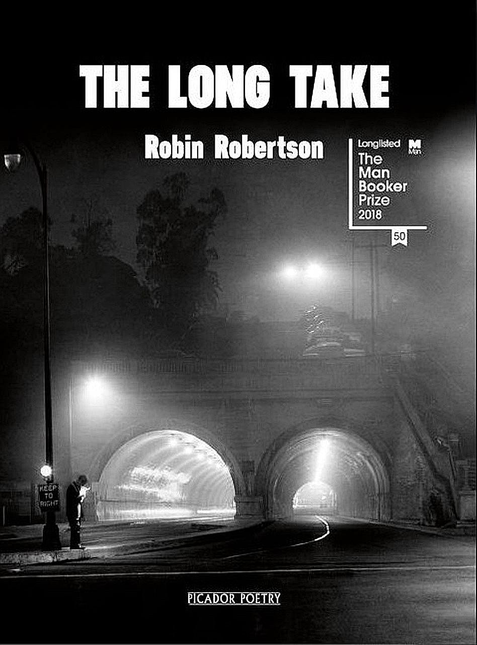 The Long Take (below) is the first novel by poet Robin Robertson (above).