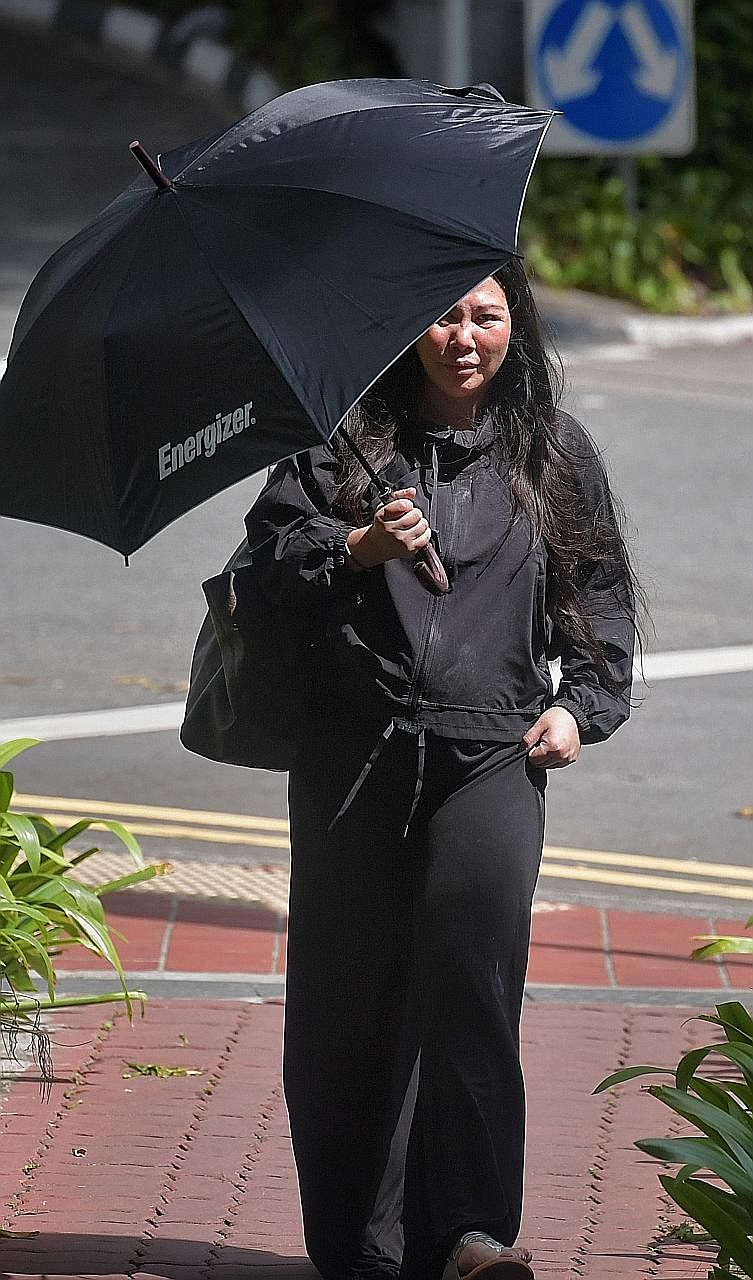 Former public relations consultant Audrey Tay May Li was arrested in August 2015 after knocking over a traffic light pole while driving under the influence of the drug ketamine. She reoffended last October, turning up intoxicated for a psychiatric as