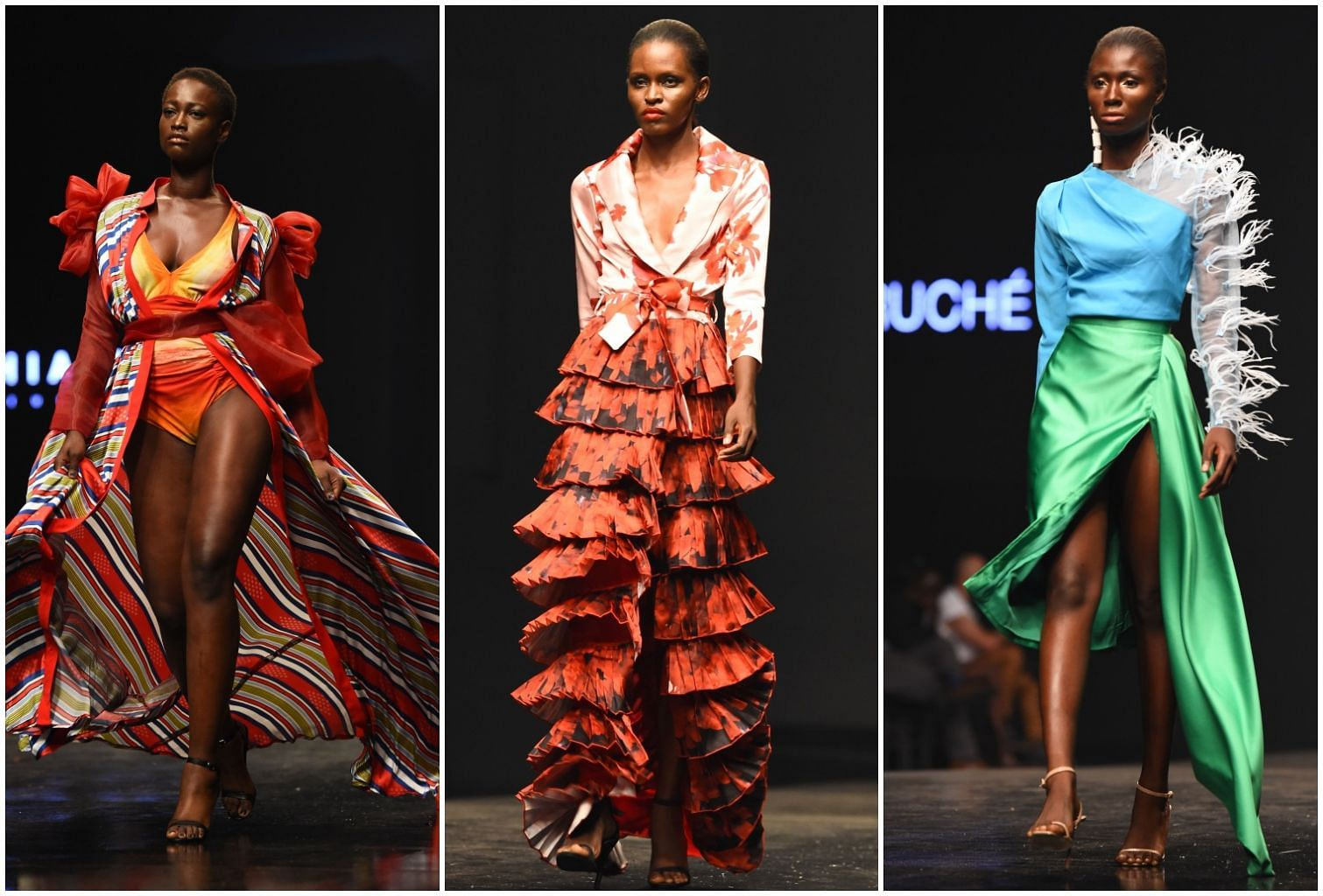 African Fashion On The World Stage Fashion News Top Stories The Straits Times