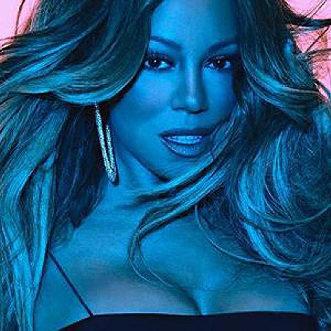 Singer Mariah Carey focuses more on proficient phrasing than vocal acrobatics in Caution.