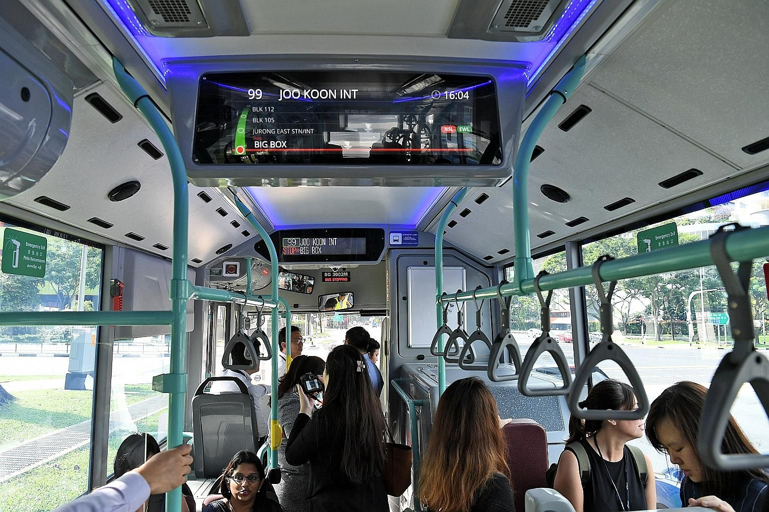 Hybrid Buses To Hit The Road Next Month Transport News Top Stories The Straits Times