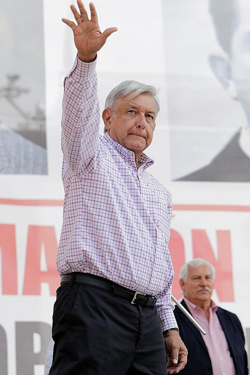 Mr Andres Manuel Lopez Obrador claims to be a great believer in popular consultations.