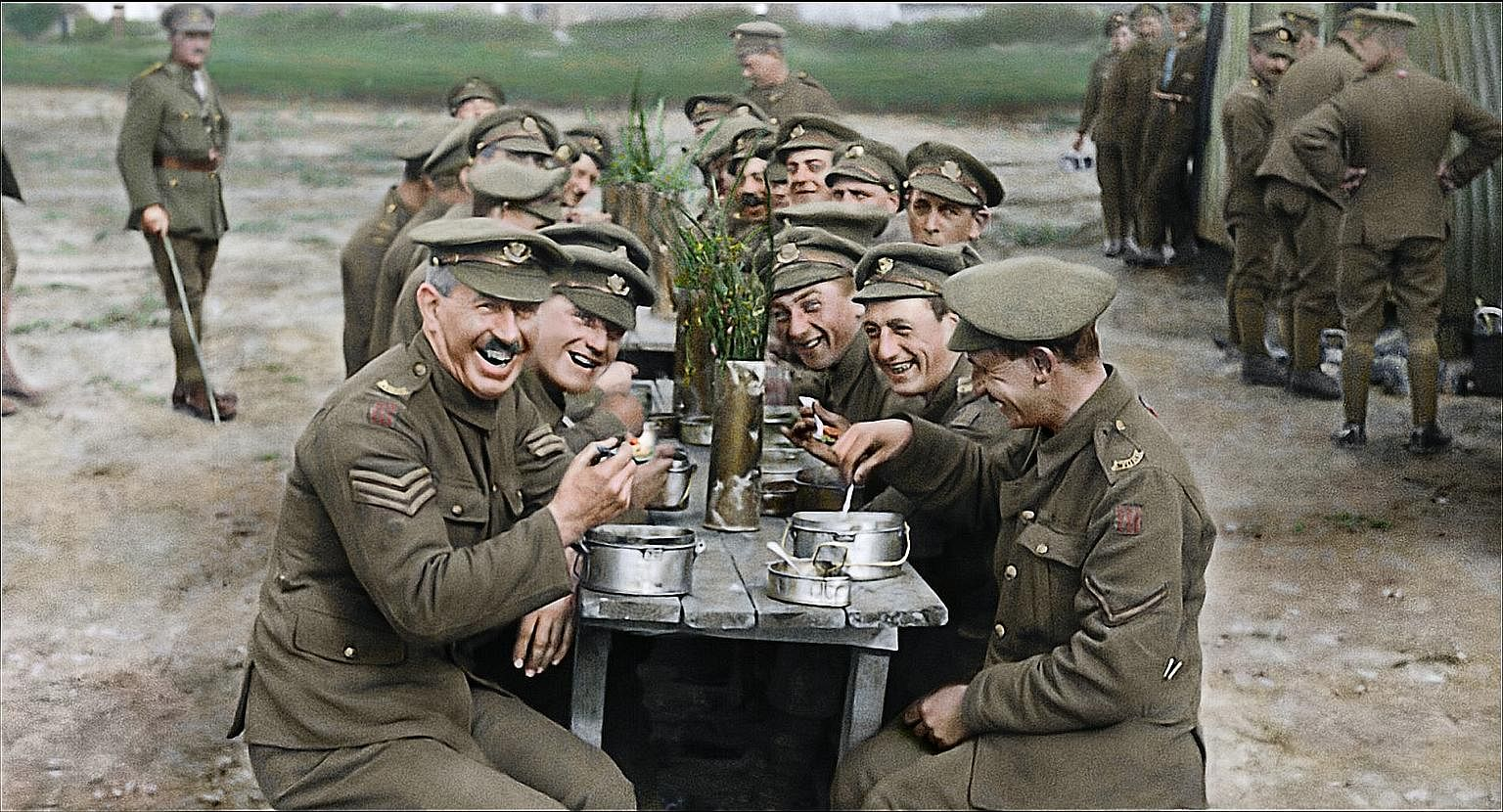 How Peter Jackson used tech to make WWI footage new in With They