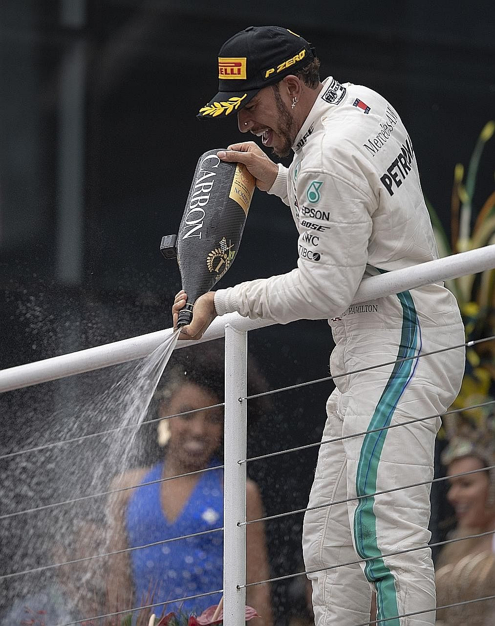 Mercedes driver Lewis Hamilton has backtracked on his comments but they have gone viral on social media.