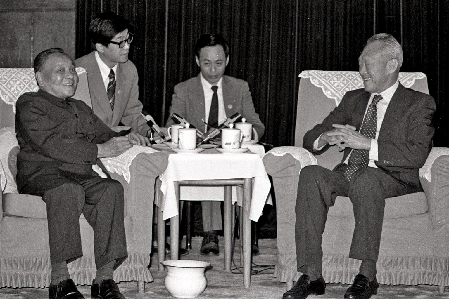 Lee Kuan Yew lauded for critical role in China's reform and opening-up,  Asia News & Top Stories - The Straits Times