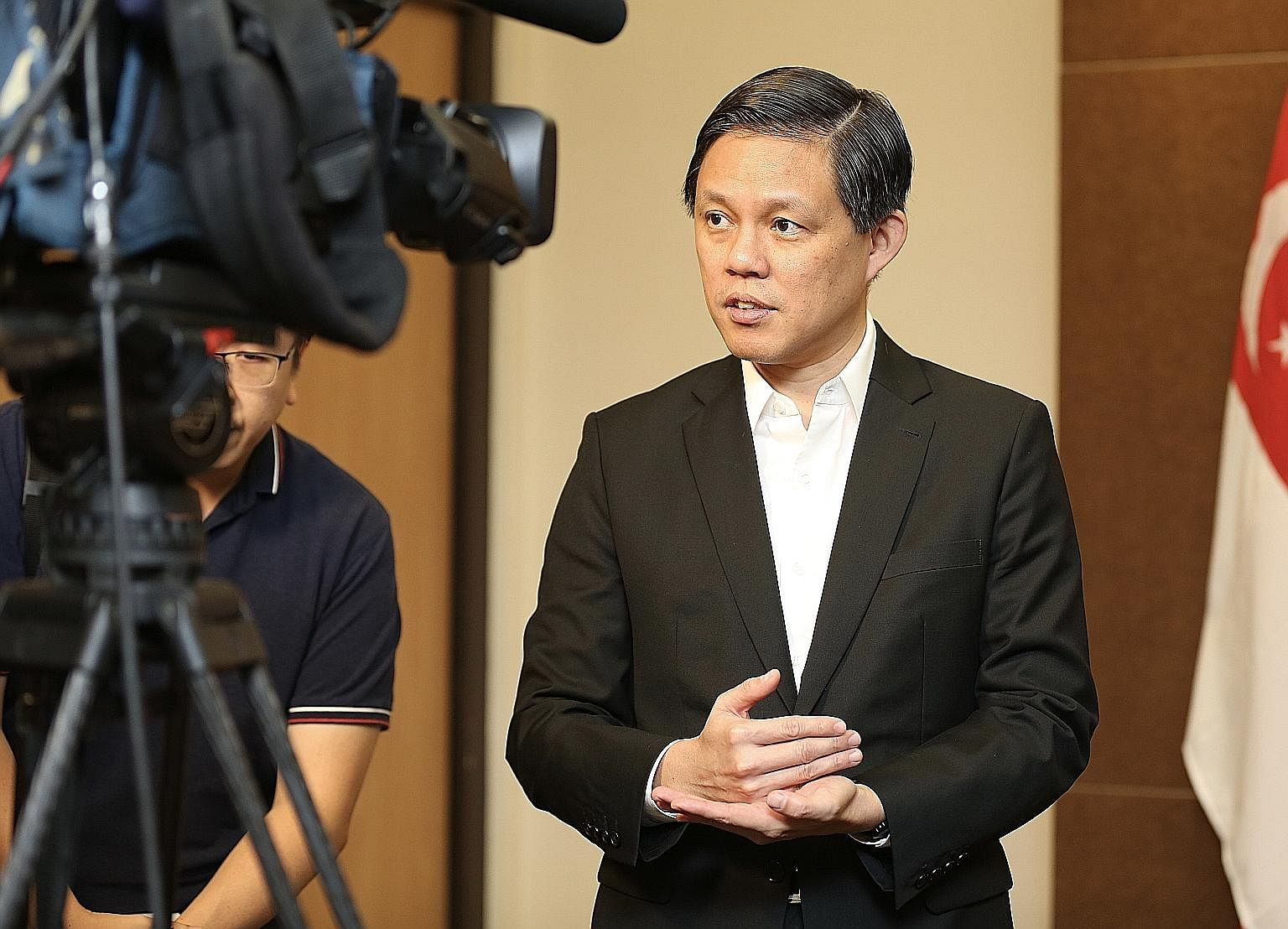 Mr Chan Chun Sing could take on a higher profile role when the Cabinet is reshuffled.