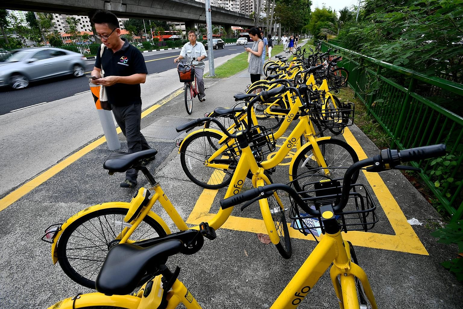 Ofo, which had been allowed to operate 25,000 two-wheelers under the Land Transport Authority's licensing scheme, later requested that this number be slashed to 10,000. It had cited difficulty in meeting its financial obligations.
