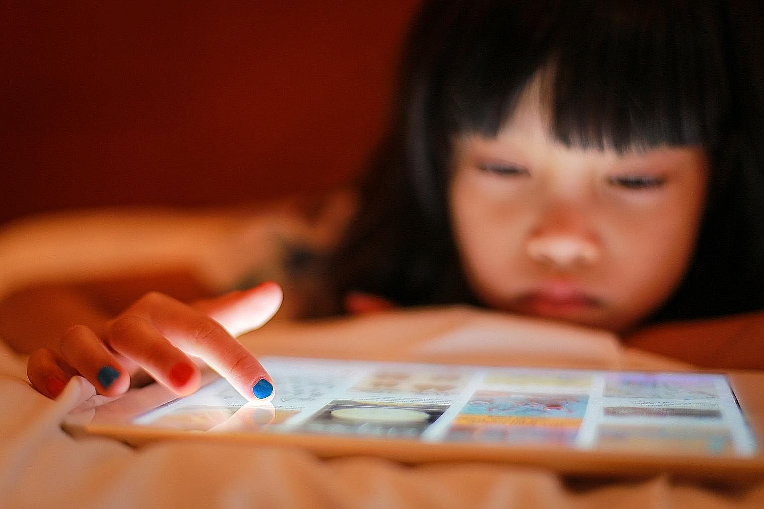 According to a study by the Singapore Eye Research Institute, childhood myopia is largely attributed to frequent near-work activities done with handheld devices such as iPads.