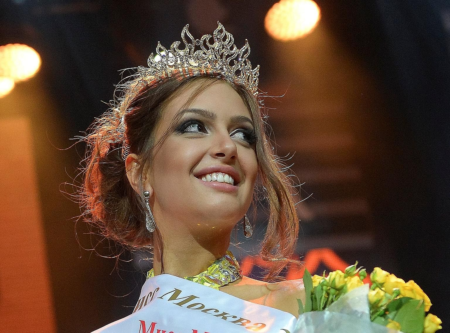 The proverbial straw that broke the camel's back was Sultan Muhammad V's secretive Nov 22 wedding to Russian beauty queen Oksana Voevodina (above).