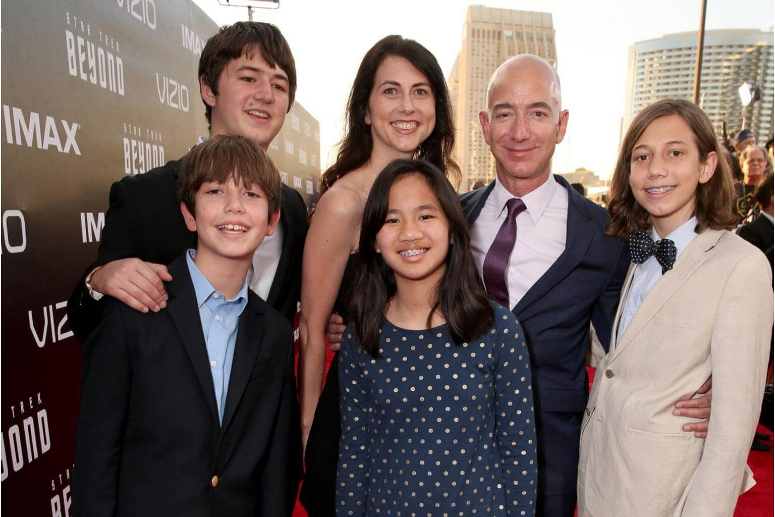 Image result for Jeff Bezos and his wife