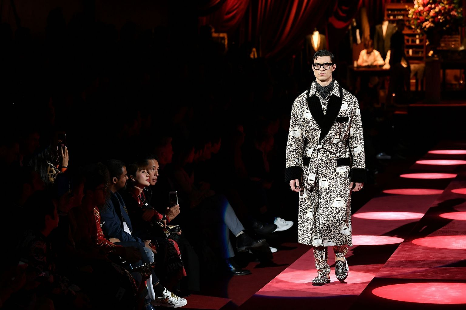 e8b1f8dfacb9 D&G unveil Italian oomph at Milan Fashion Week after China fiasco, Fashion  News & Top Stories - The Straits Times