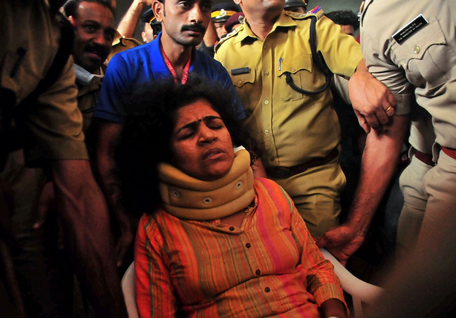 Two more women barred from flashpoint Sabarimala temple in