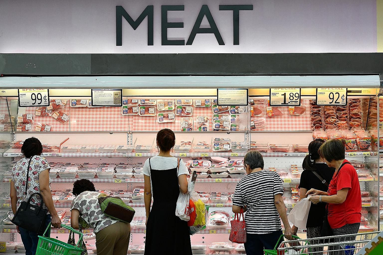 On average, each Singaporean ate 2kg of beef, 3kg of mutton and 20kg of pork in 2017, according to the latest Agri-Food and Veterinary Authority figures. This works out to a combined 68.5g a day, nearly five times the 14g which the study published ye