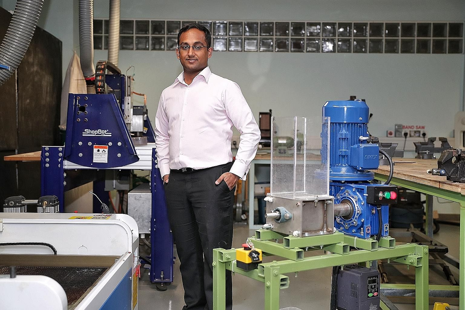 Mr Veerappan Swaminathan founded Sustainable Living Lab in 2011 with two friends after he graduated from the National University of Singapore, having studied mechanical engineering. He finds satisfaction in seeing change in the habits of those who ha