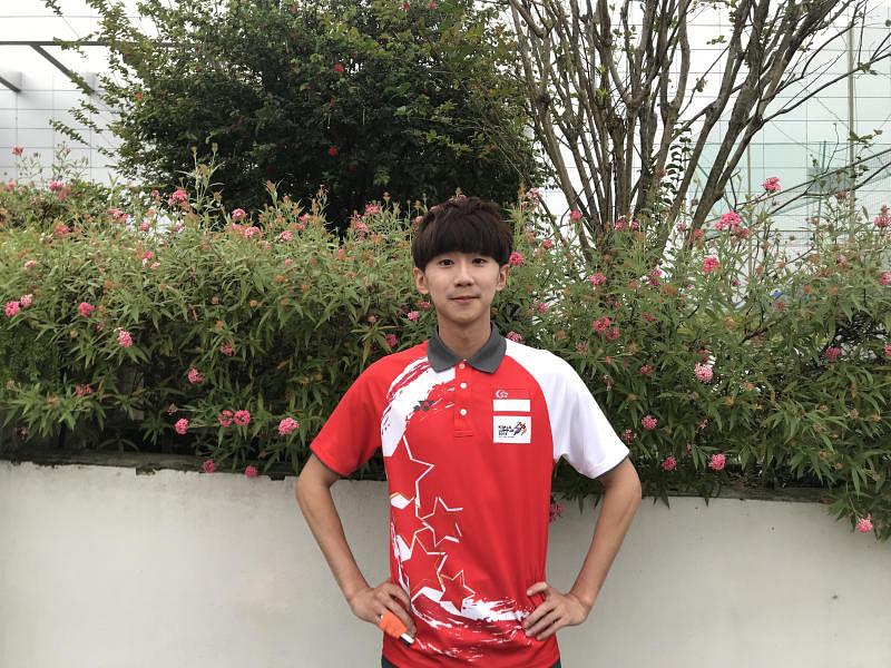 singapore taekwondo and influencer Ng Ming Wei