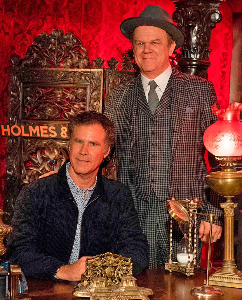 Will Ferrel (left) and John C. Reilly both received worst acting nods for their roles in Holmes & Watson.