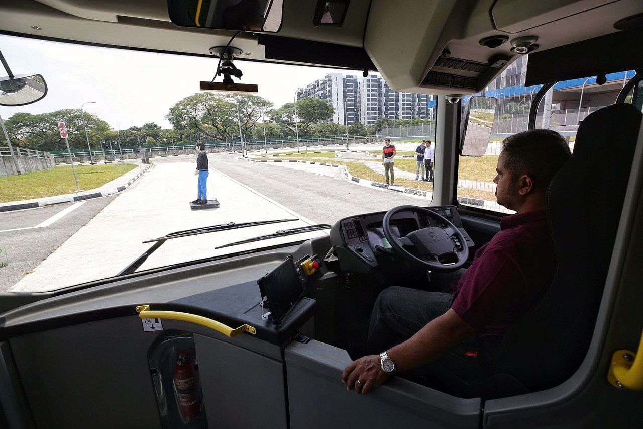 NTU and Volvo launch world's first full-sized driverless