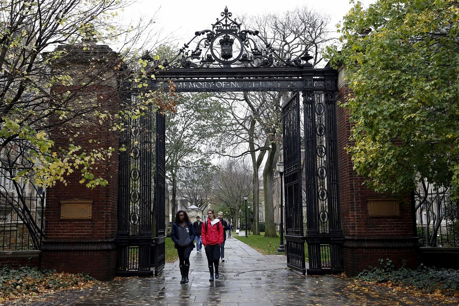The campus of Yale University in New Haven, Connecticut. Dozens of wealthy parents have been indicted in the US for using bribery and fraud to get their children into highly selective schools, including Yale and Stanford.