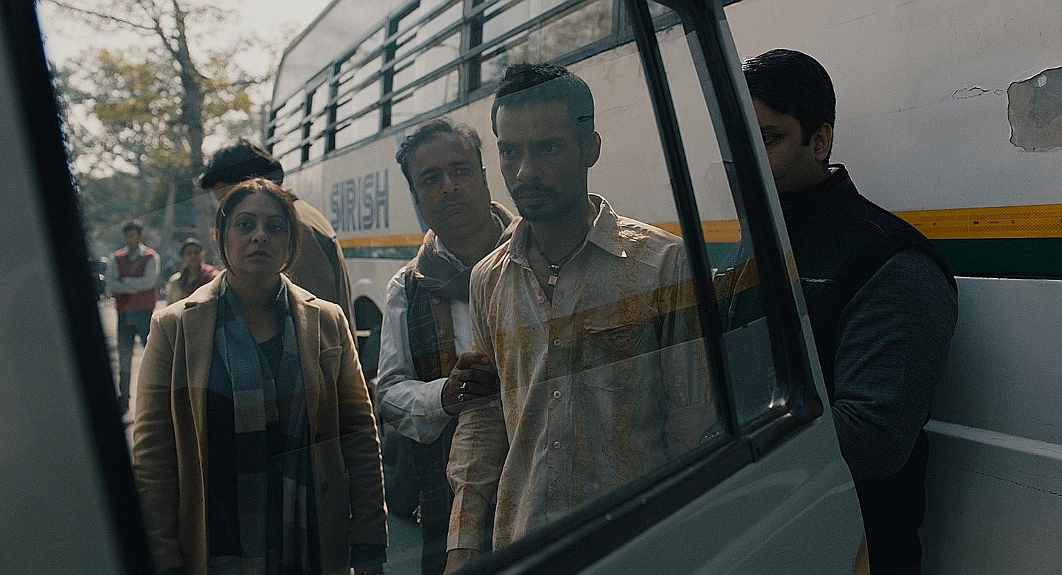 In Delhi Crime, Shefali Shah (above left) plays a police chief who leads a team to nab a group of rapists; while in Warrior, Andrew Koji (left) plays martial arts prodigy Ah Sahm.