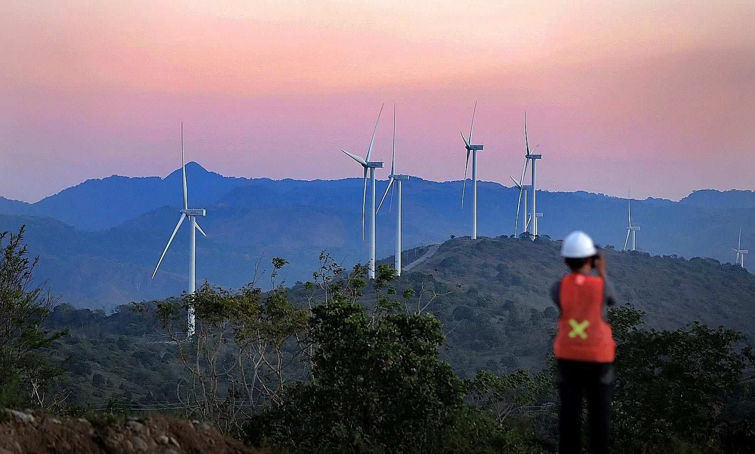 Wind turbines in South Sulawesi, Indonesia. The rapid advancements in science and innovation have opened up many new possibilities to pursue sustainable development, says Deputy Prime Minister Heng Swee Keat.