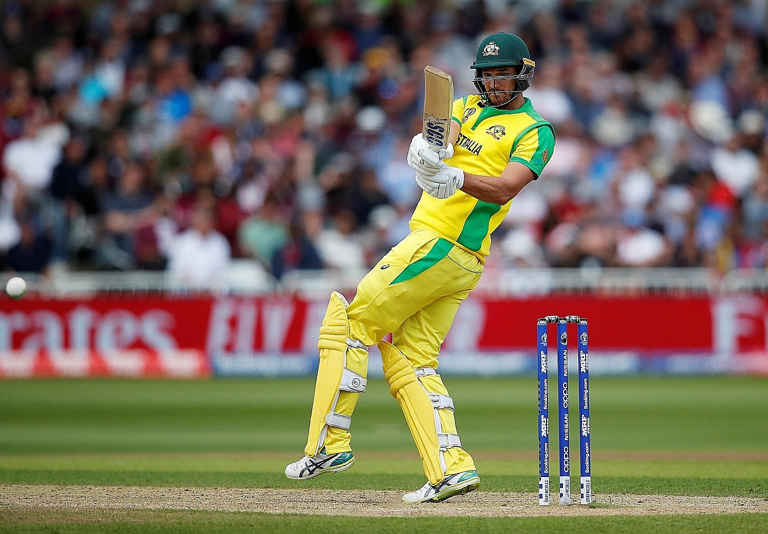 Australian No. 8 Nathan Coulter-Nile's 92 was way above his ODI average of 12, with a match high of 34.