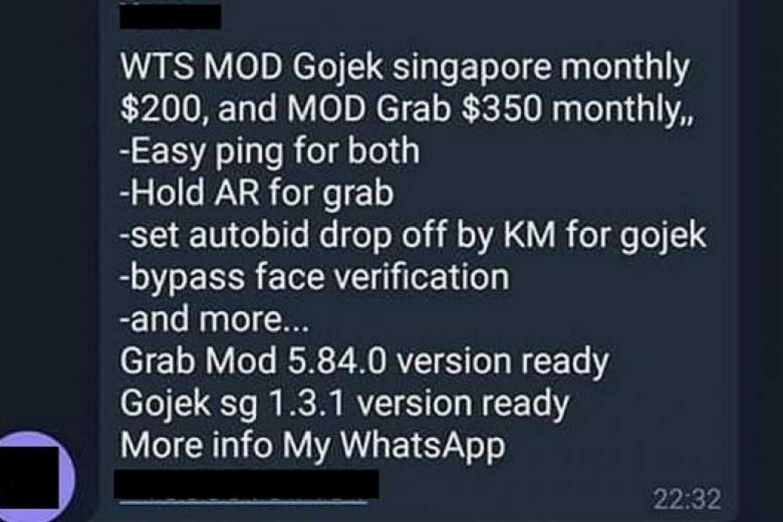 Private-hire drivers caught hacking Grab, Gojek apps to