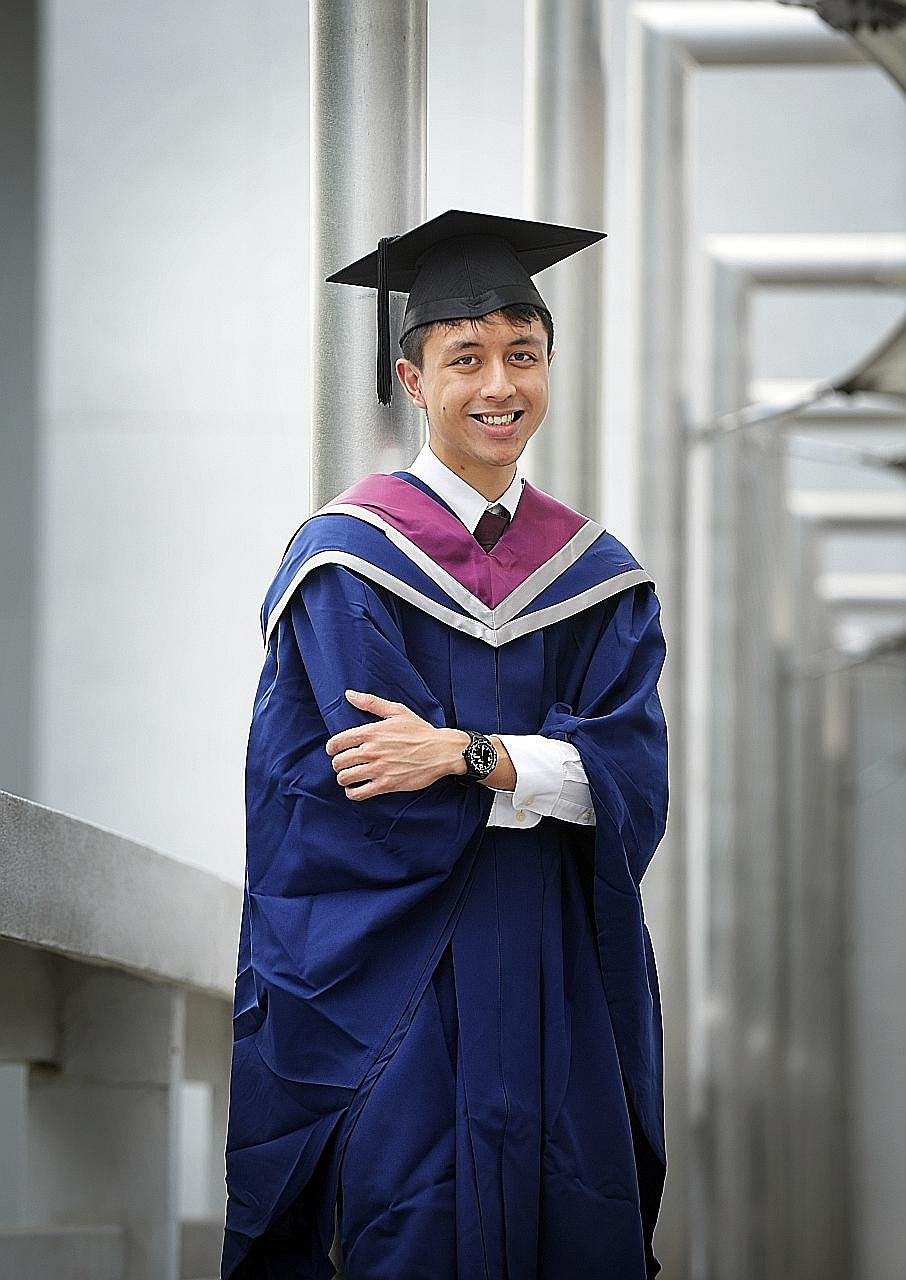 First poly entrant graduates from NTU med school, Singapore