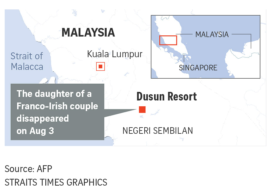 Malaysia steps up search for missing Franco-Irish teen from
