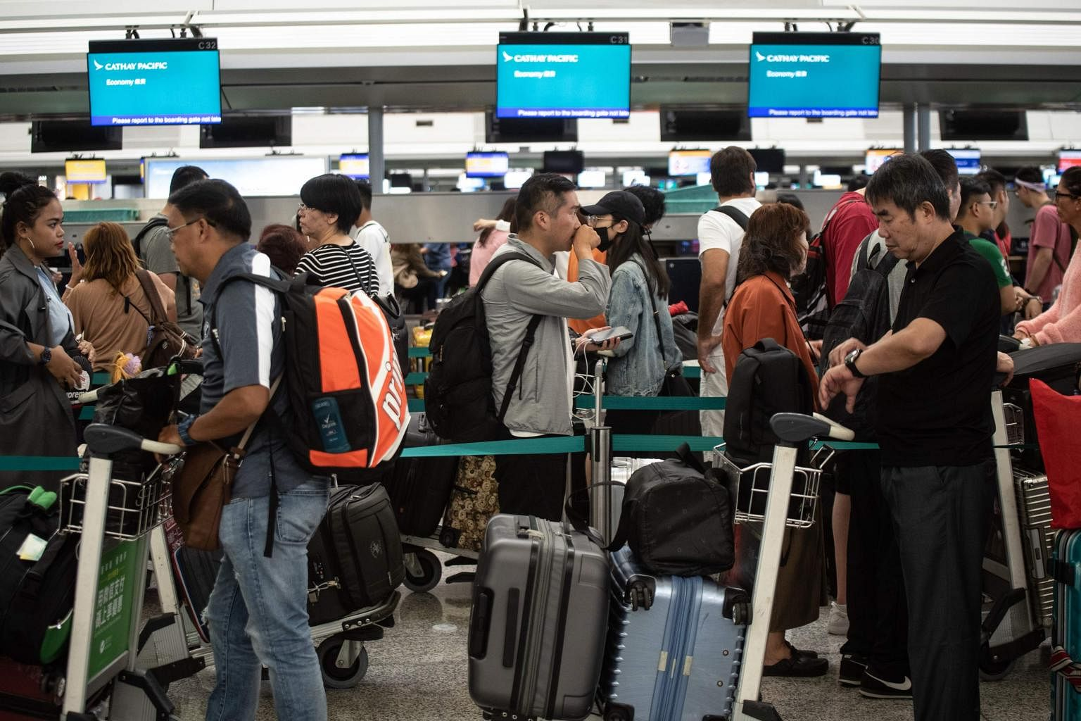 Image result for HONG KONG PROTESTS AIRPORT RESUME OPERATIONS AFTER A NIGHT OF CHAOS