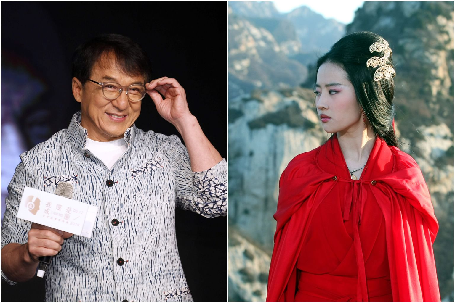 Disney Mulan Star Liu Yifei Jackie Chan Slammed For Comments On Hong Kong Protests Entertainment News Top Stories The Straits Times