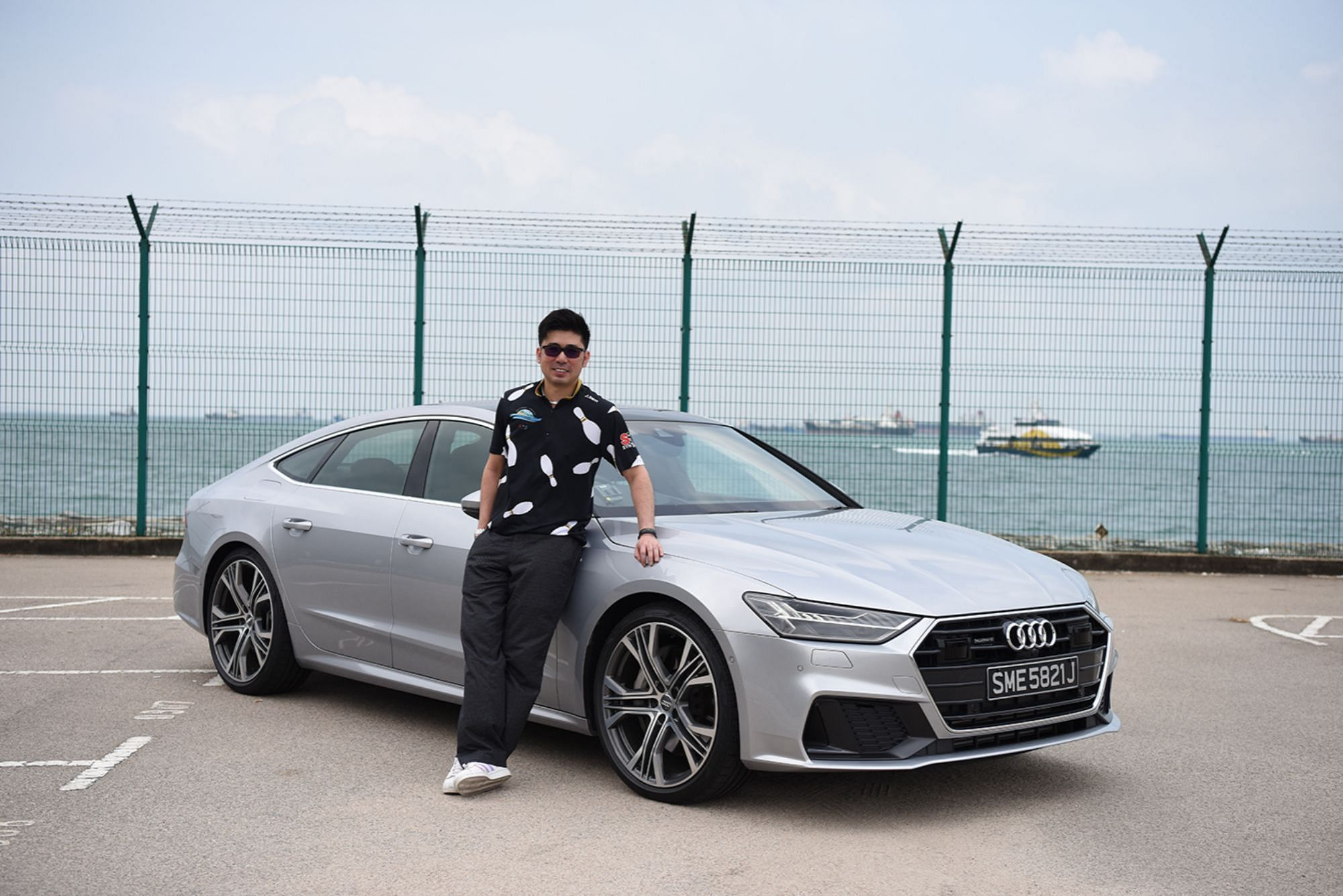 National Bowler Remy Ong Audi