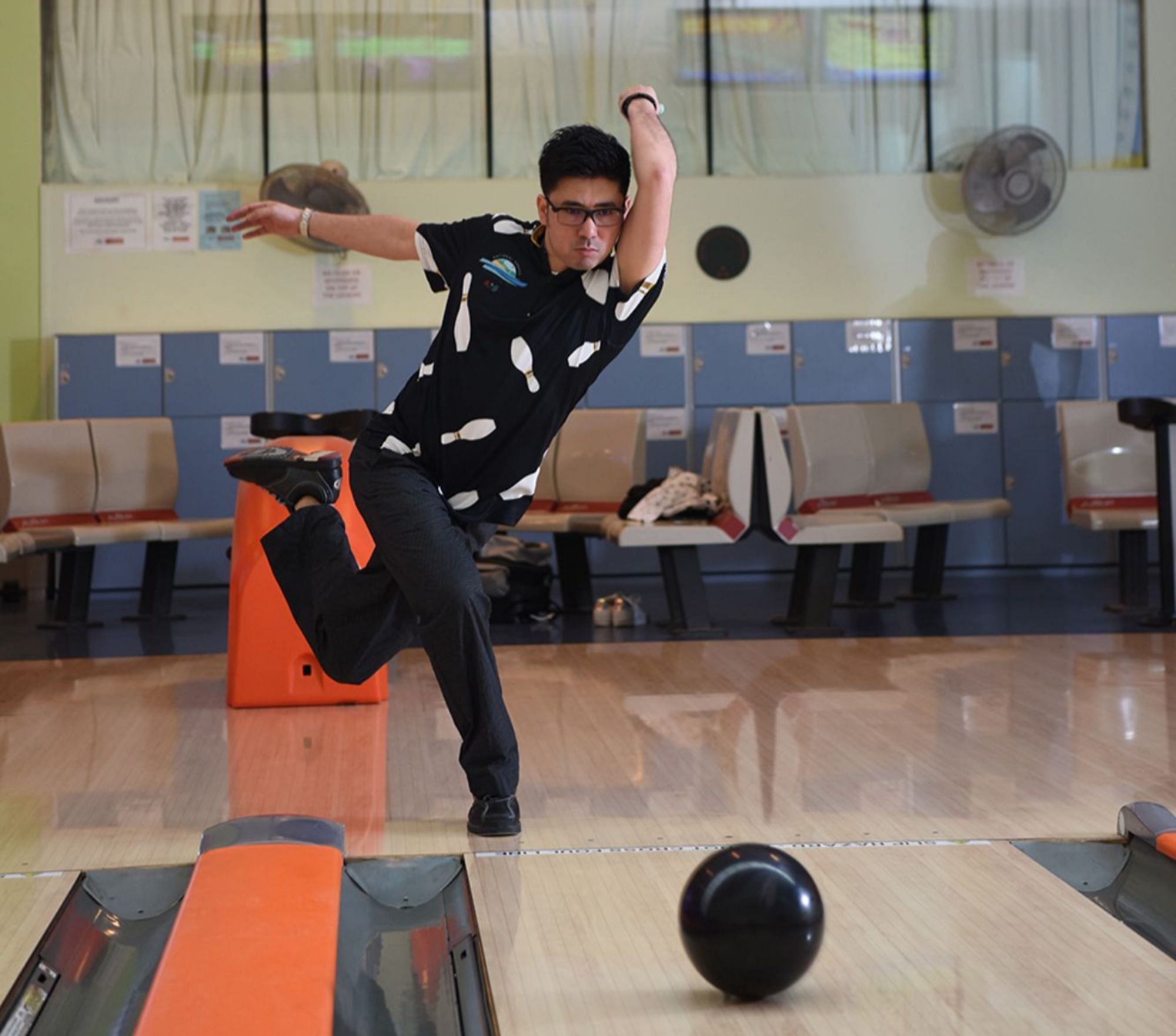 National Bowler Remy Ong