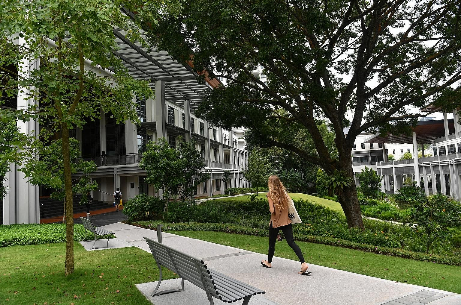 A liberal arts school like Yale-NUS College (above, in a 2017 photo) will have a place in Singapore's education landscape, says Education Minister Ong Ye Kung. But thinking critically is quite different from being unthinkingly critical, and any cours
