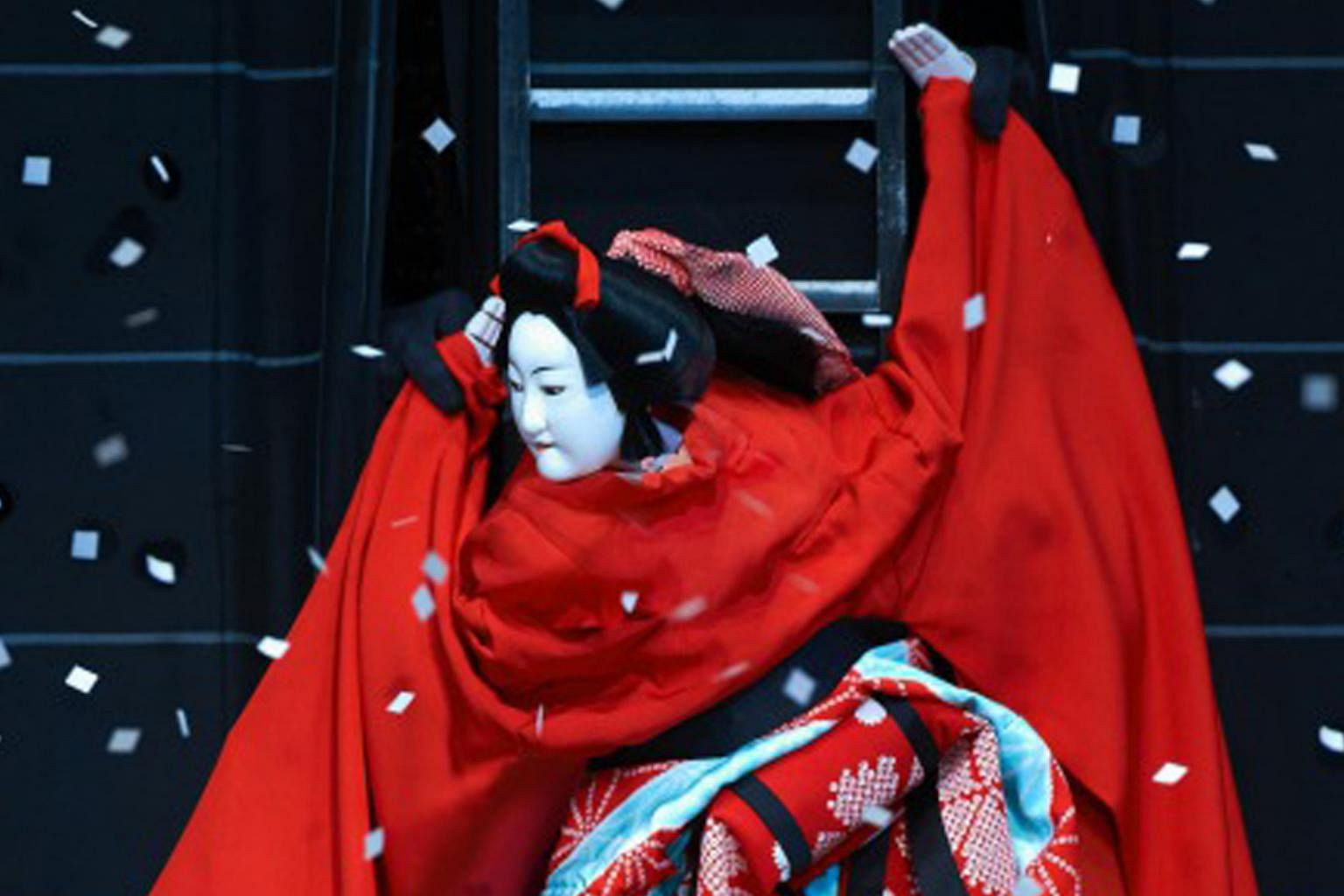 Japanese Puppets Take Centre Stage In Bunraku Performance Arts News Top Stories The Straits Times