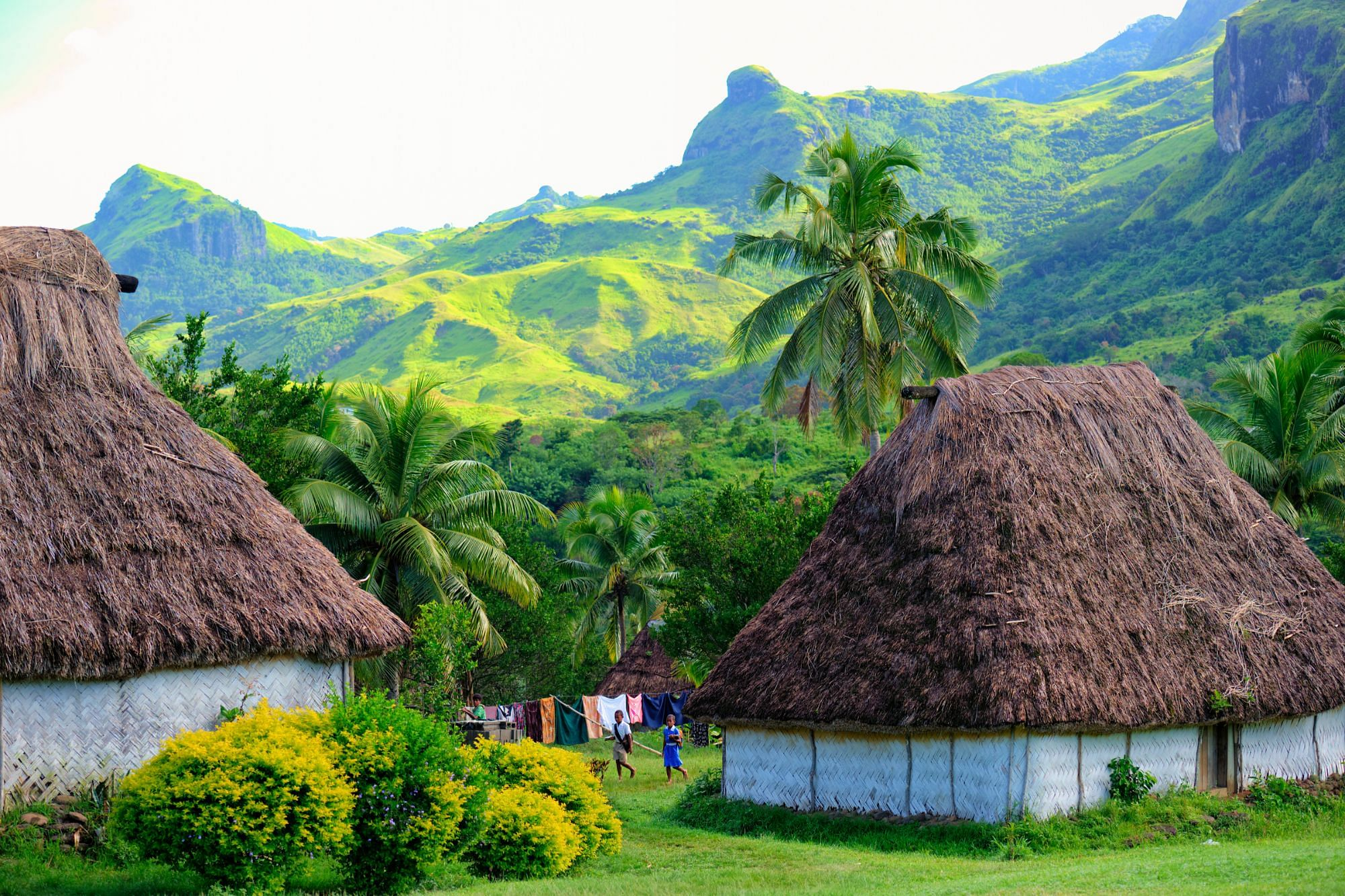 Navala Village Fiji Family Holiday Culture