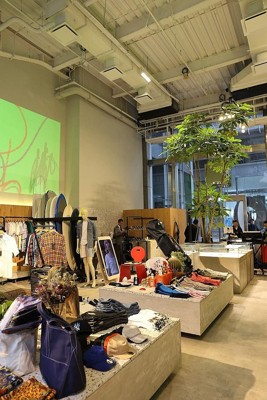 Beams' pop-up store in UE Square will be open until Jan 17.