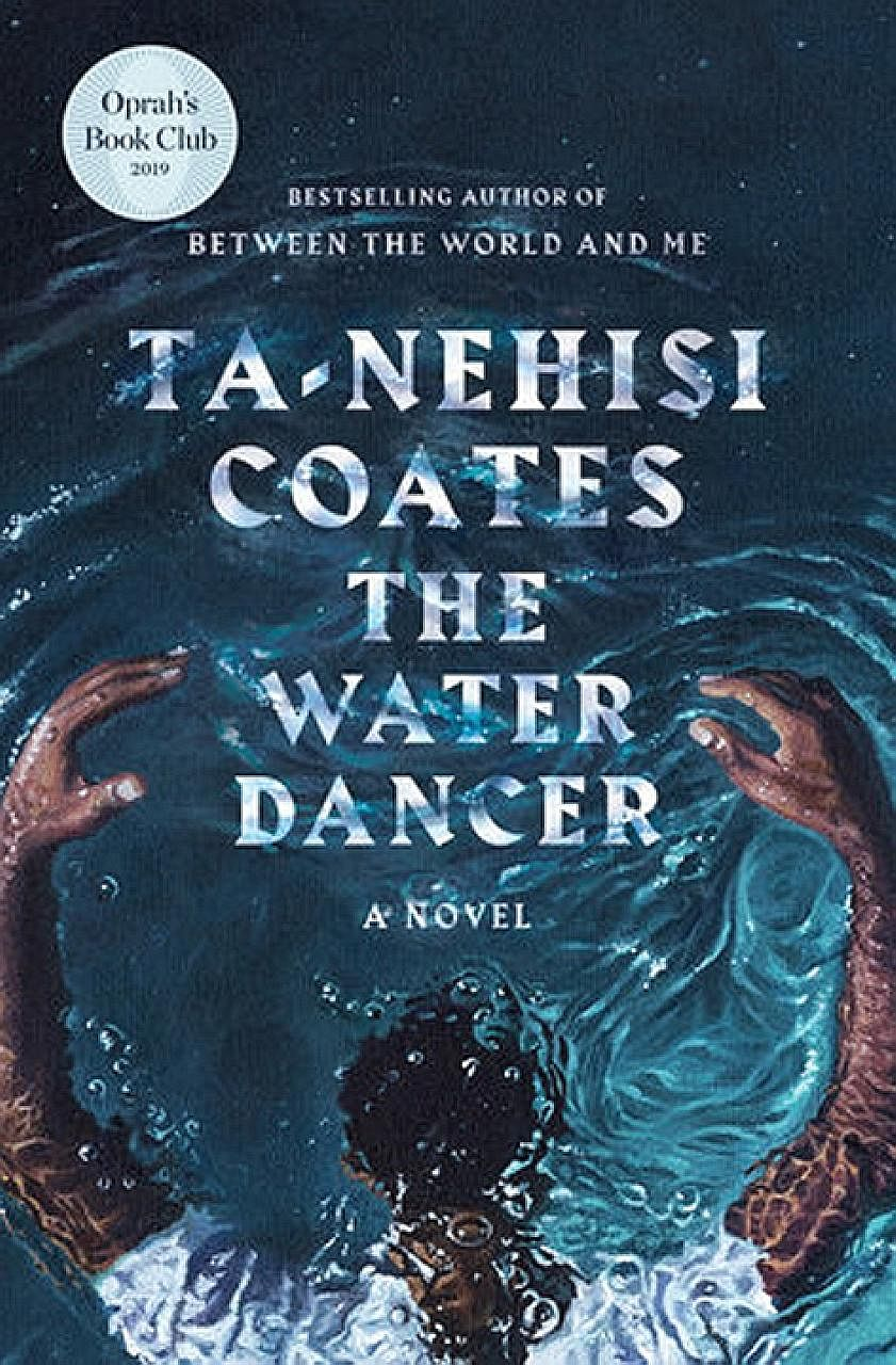 The Water Dancer (above) is American writer Ta-Nehisi Coates' (top) debut novel.