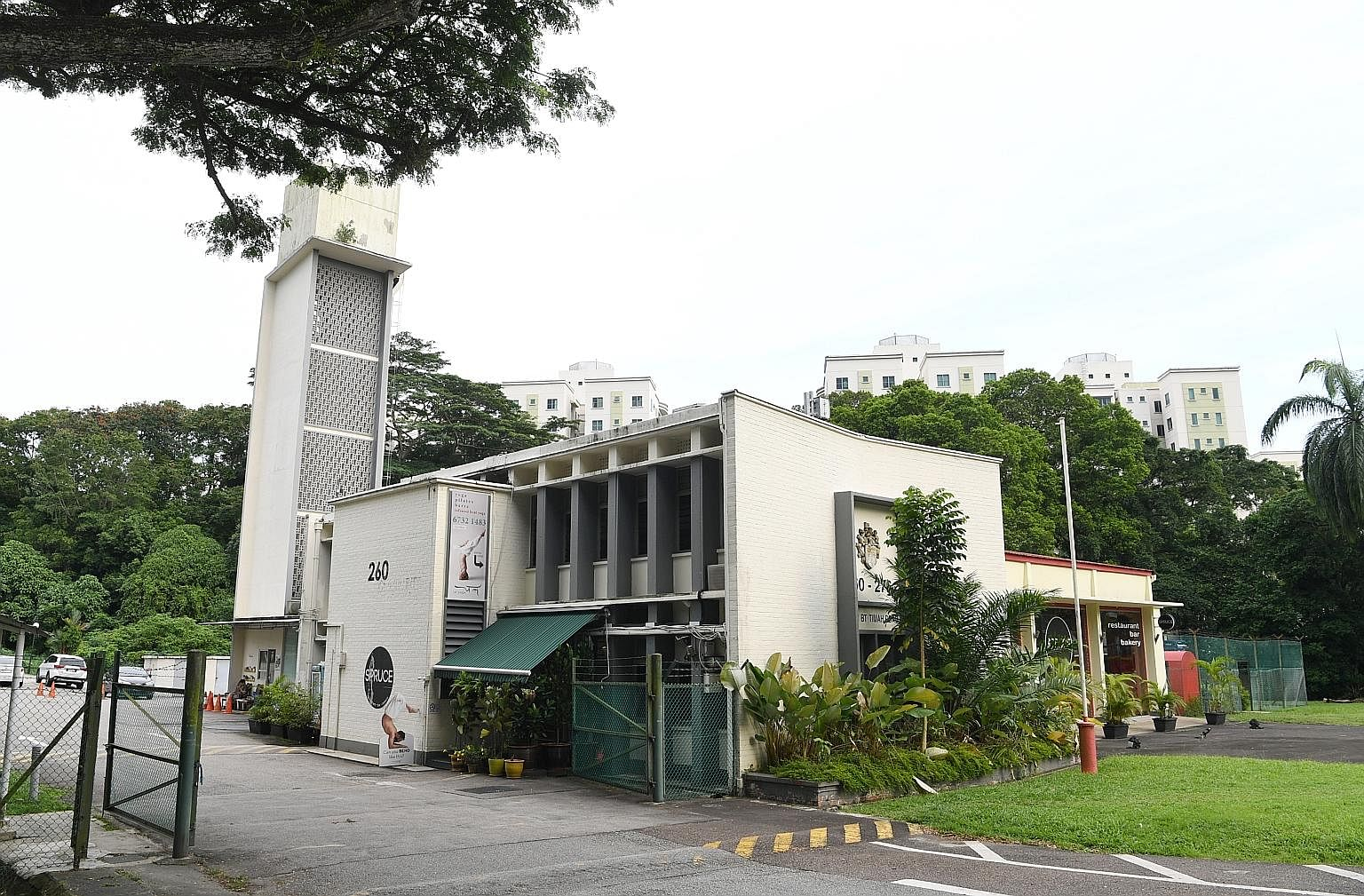 The former Bukit Timah Fire Station (above) and former Railway Station Staff Quarters (right) have been gazetted for conservation, said the Urban Redevelopment Authority (URA) yesterday. The conservation gazettes are part of the 2019 URA masterplan w