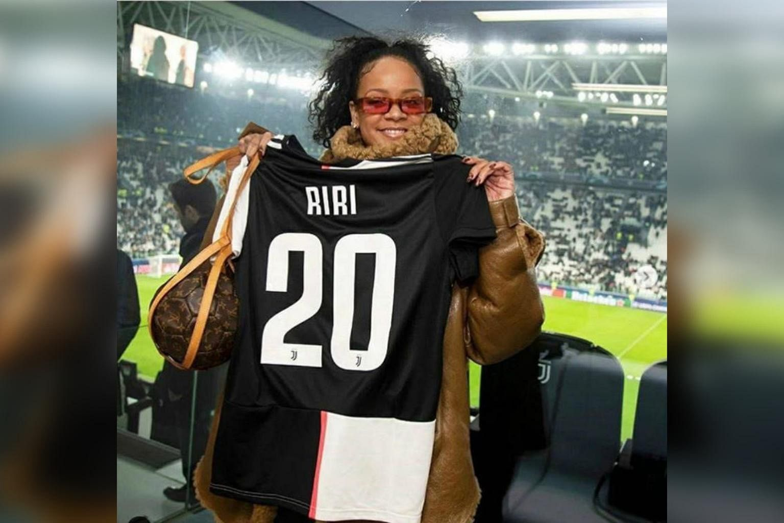Who is that Juventus 'player' given jersey number 20? Rihanna,  Entertainment News & Top Stories - The Straits Times