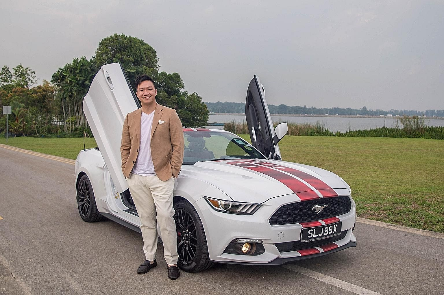 Me And My Car Modified Ford Mustang Convertible An American Beauty Life News Top Stories The Straits Times