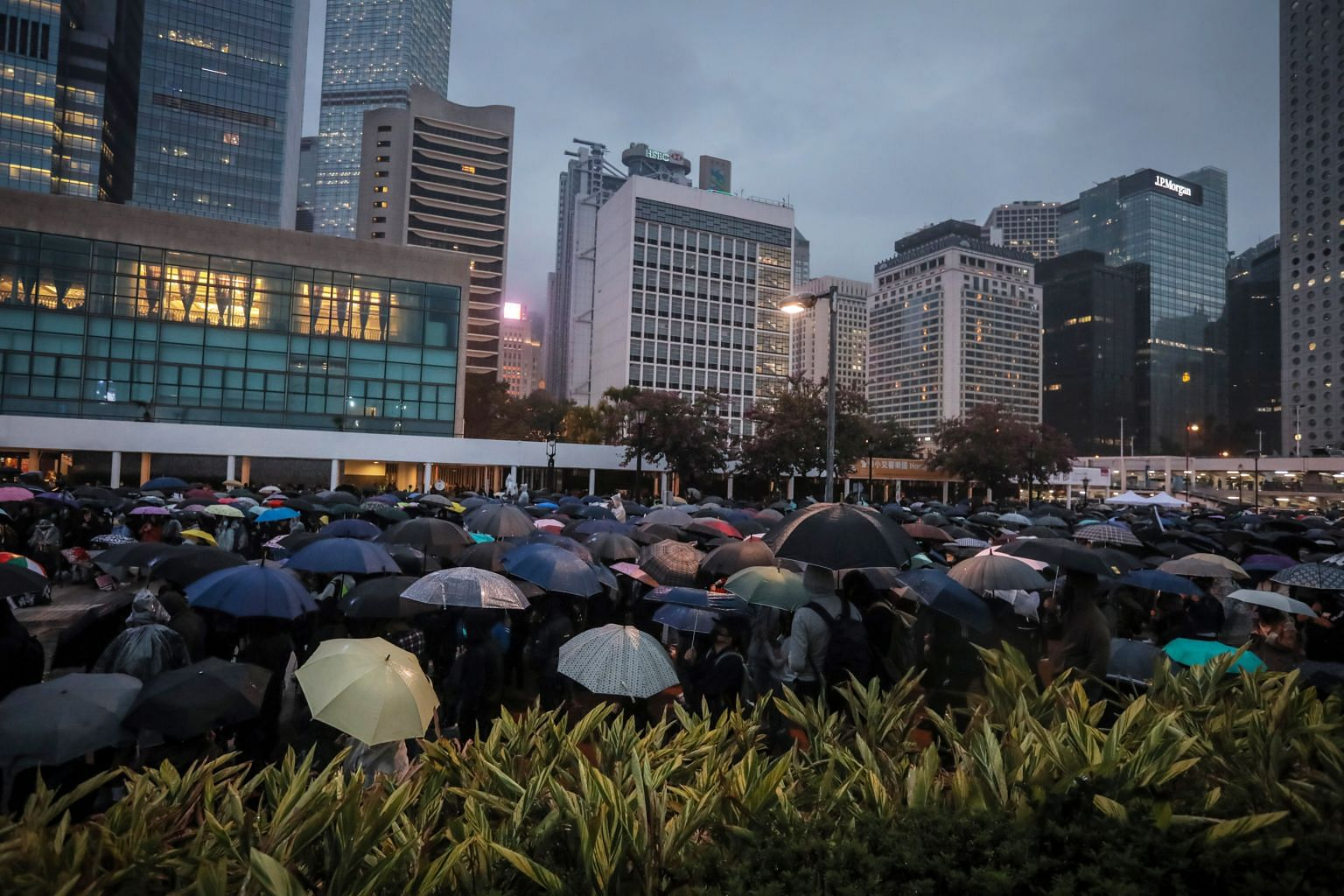 'Persist in 2020' - Hong Kong gears up for New Year countdown unrest