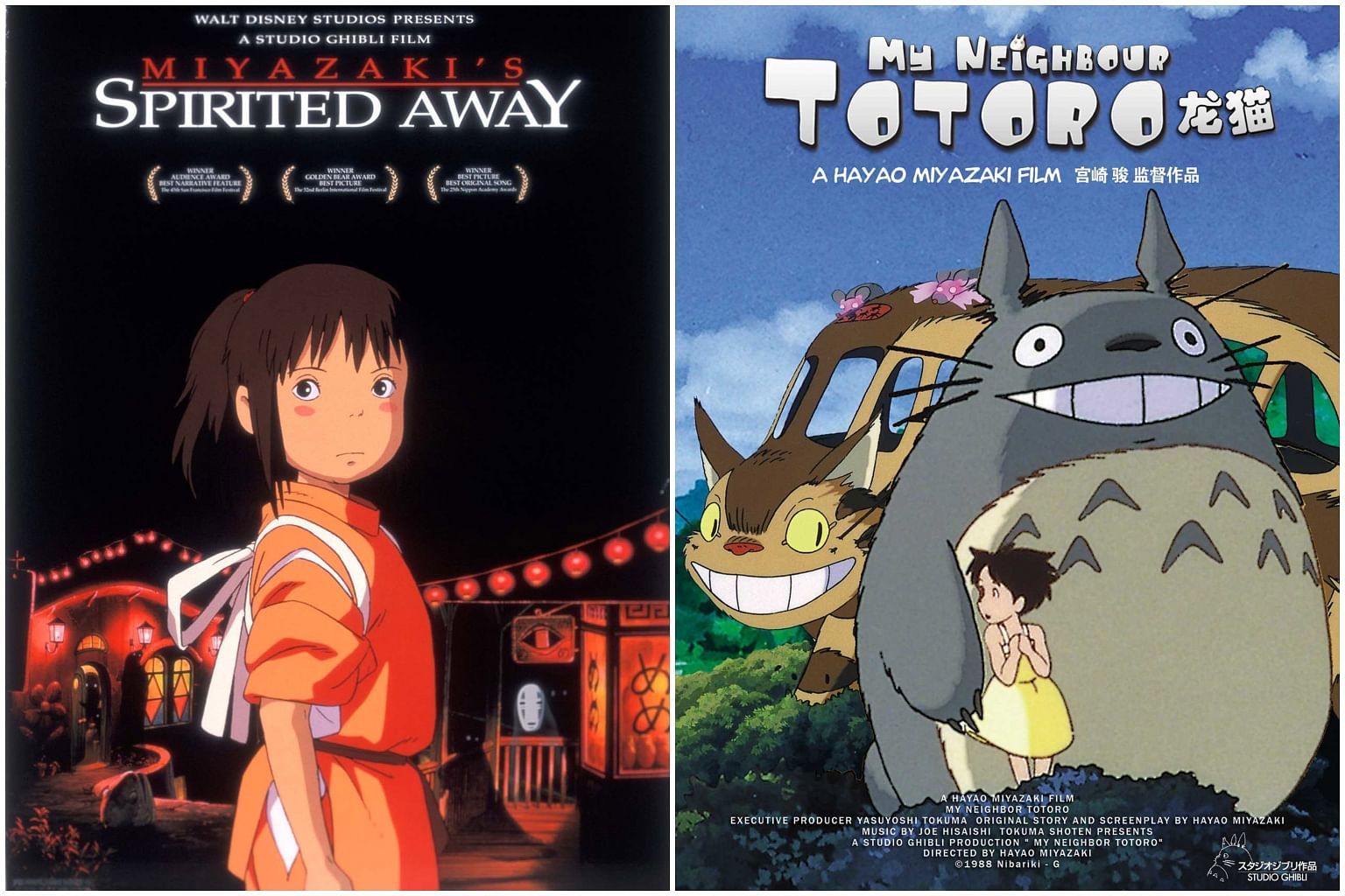 Studio Ghibli Films Such As Spirited Away And My Neighbor Totoro To Stream On Netflix Entertainment News Top Stories The Straits Times