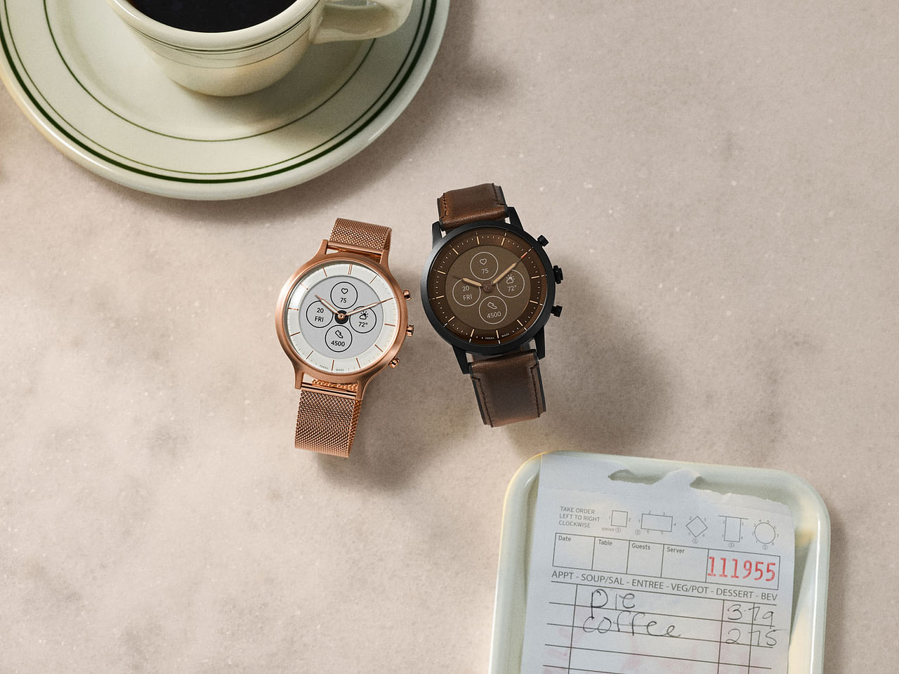 Tech Review Fossil Hybrid Hr Collider Is The Analogue Smartwatch You Never Knew You Wanted Wearables News Top Stories The Straits Times