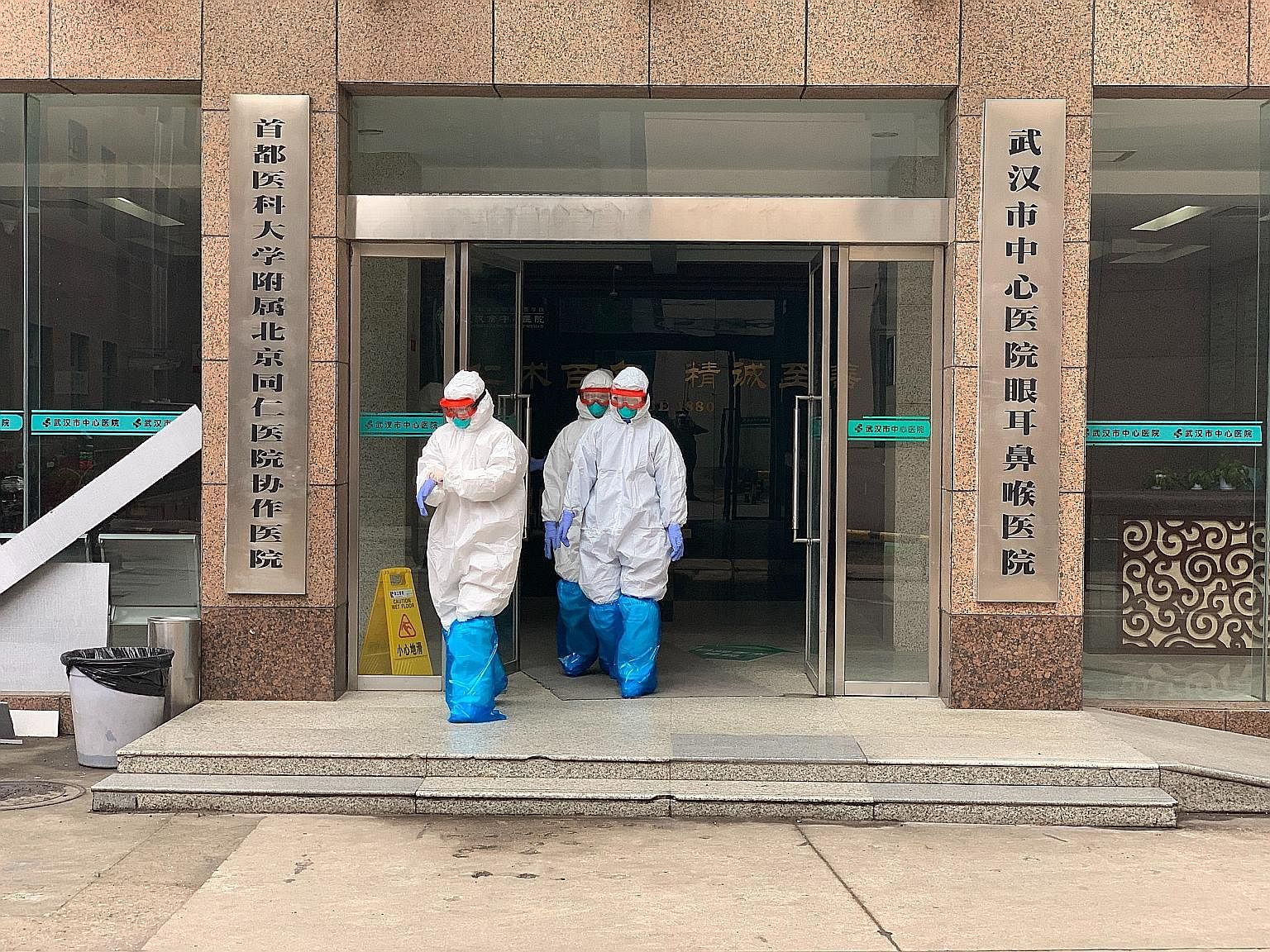Medical professionals at hospitals in Wuhan have been fighting the coronavirus outbreak for more than a month. In some hospitals, all medical workers have given up their holidays, working in shifts to keep the intensive care unit (ICU) running at ful